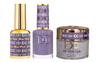DND DC 3in1 Matching(GEL+LACQUER+DIP) - #101  BLUE PLUM