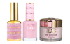 DND DC 3in1 Matching(GEL+LACQUER+DIP) - #134  EASY PINK