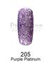 DND DC Platinum Gel - 205 Purple Platinum .6 oz