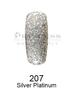 DND DC Platinum Gel - 207 Silver Platinum .6 oz