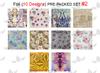 WaveGel Foil - 10 Pre-Packed Foil Designs #2  - GET 1 FREE BLINK GEL
