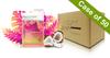 Voesh Case/50pks - Pedi in a Box - 4 Step Deluxe - Coco Colada Oasis (VPC208COL)