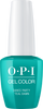 OPI GelColor - #GCN74 Dance Party 'Teal Dawn - Neon 2019 Collection .5 oz