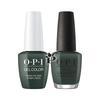 OPI Duo - GCU15 + NLU15 - Things I've Seen in Aber-Green .5 oz
