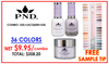 PND 3in1 Matching(GEL+LACQUER+DIP) - Complete Set - 36 Colors (E01-E36) GET FREE SAMPLE TIP