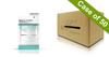 Voesh Case/50pks - Pedi in a Box - 4 Step Deluxe - Unsented (VPC208WHT)