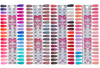 DND DC 3-IN-1 COMBO SET (Gel+Lacquer+Dip) 96 Colors (#001 to #144: out of stock 48 colors)