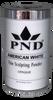 PND Acrylic Powder (Fine Sculpting Powder) - American White 22 oz.