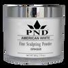 PND Acrylic Powder (Fine Sculpting Powder) - American White 12oz
