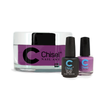 Chisel Combo 3 in 1: Dip + Gel + Lacquer  - SOLID57
