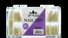 PND (Creation) Nail Tip, #02 Long Stellito  Natural Box/600pcs (15159)