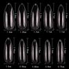 PND (Creation) Nail Tip, #05 Long Almond Clear Box/500pcs (15164)