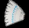 Chisel Nail File Half Moon 80/80 White Pack/30pcs