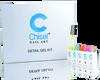 Chisel Detail Nail Art Gel Kit - 18 Colors