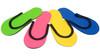 Slip-Resistant Rubber Strip Slipper (12 Pairs/bag)