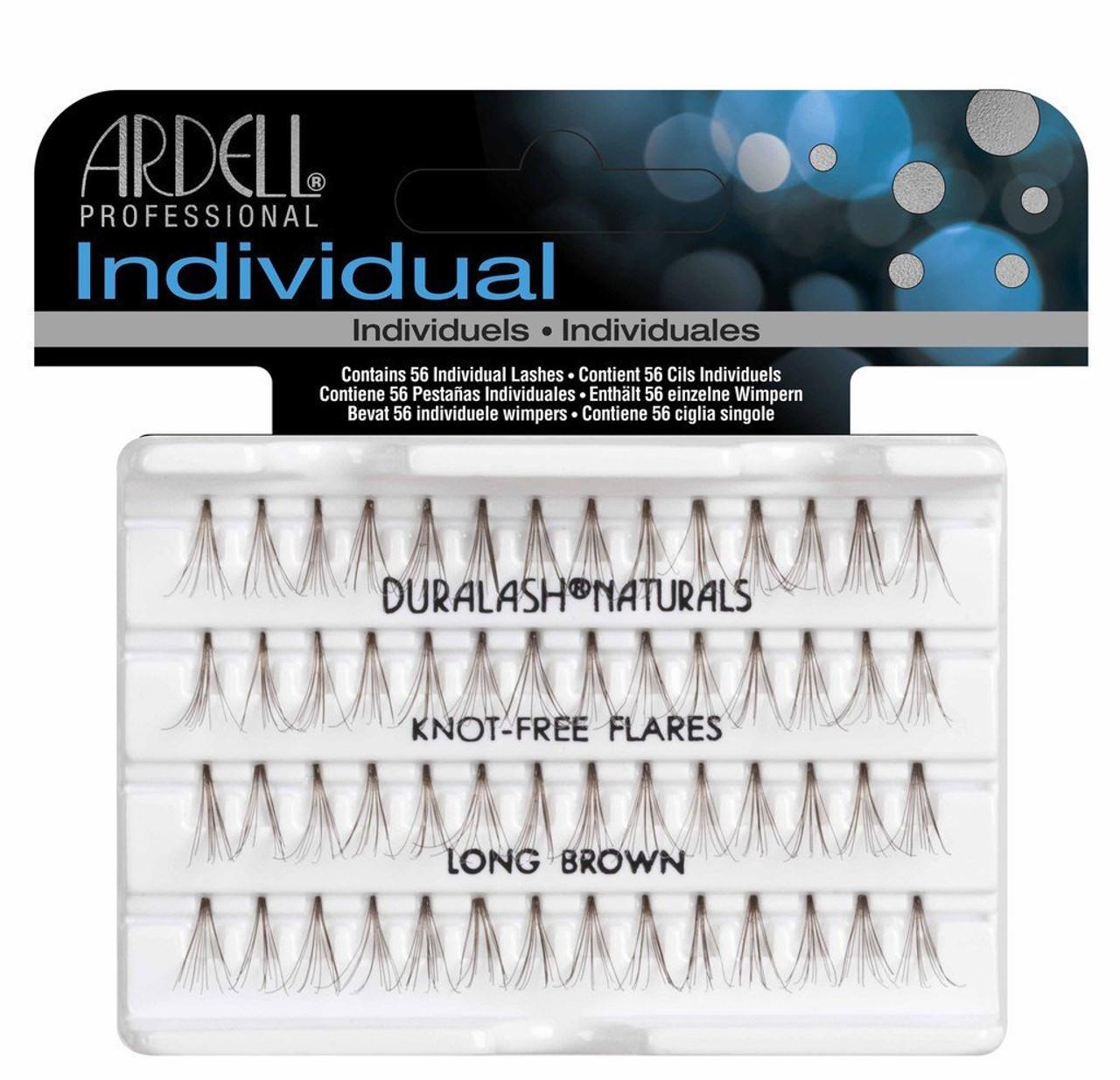 8138cb8da19 Ardell Duralash Naturals - Knot Free Flares - Long Brown (#65055) -  Princess Nail Supply