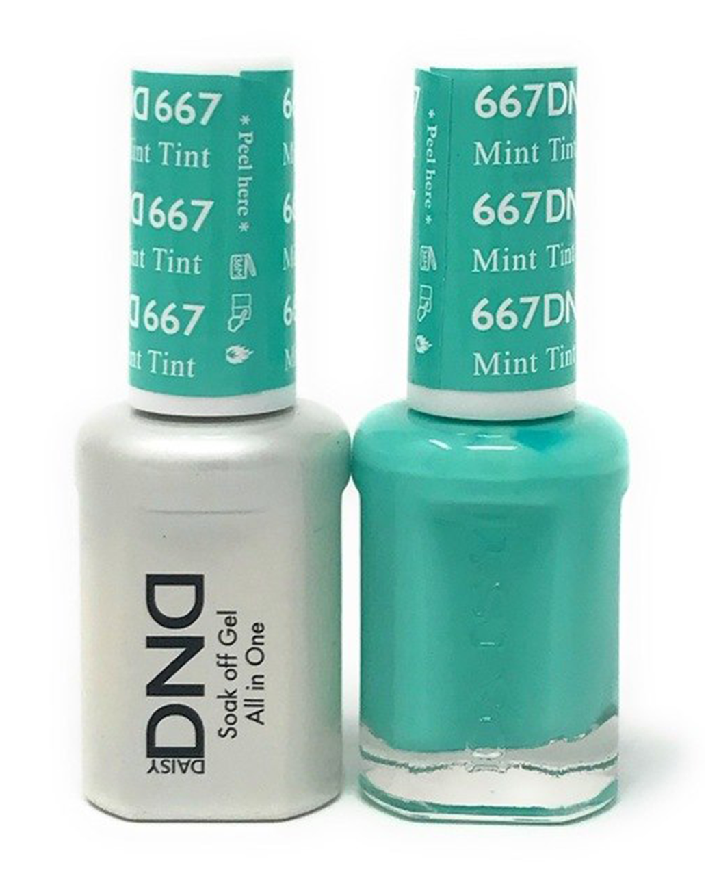 DND Duo Gel - G667 Mint Tint - Princess Nail Supply