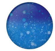 Gel II Reaction - R175 Chaotic Cobalt