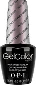 OPI GelColor (BLK) - #GCT67 - This Silver's Mine! - SoftShades Collection .5 oz