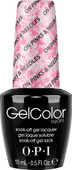 OPI GelColor (BLK) - #GCA71 - On Pinks & Needless - Brights Collection .5 oz