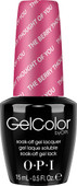 OPI GelColor (BLK) - #GCA75 - The Berry Thought of You - Brights Collection .5 oz