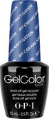OPI GelColor (BLK) - #GCA76 - My Car has Navy-gation - Brights Collection .5 oz