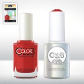 Color Club Gel Duo Pack - GEL115 - CADILLAC RED