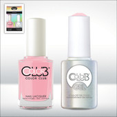 Color Club Gel Duo Pack - GEL937 - LITTLE MISS PARIS