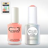 Color Club Gel Duo Pack - GEL1002 - EAST AUSTIN