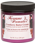 Keyano Manicure & Pedicure - Cranberry Butter Cream 8oz