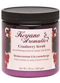 Keyano Manicure & Pedicure - Cranberry Scrub 10 oz