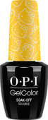 OPI GelColor (BLK) - #GCH88 - My Twin Mimmy - Hello Kitty Collection .5 oz