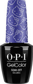 OPI GelColor (BLK) - #GCH90 - My Pal Joey - Hello Kitty Collection .5 oz