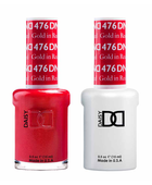 DND Duo Gel - #476 GOLD IN RED