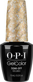 OPI GelColor (BLK) - #GCBA6 - A Mirror Escape - Alice in Wonderland Collection .5 oz