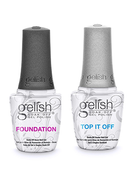 Gelish Duo Foundation + Top It Off