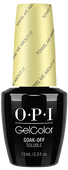 OPI GelColor (BLK) - #GCR67 - Towel Me About It - Retro Summer Collection .5 oz