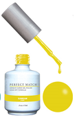 PERFECT MATCH Gel Polish + Lacquer - PMS176 SUNBEAM