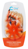 50% Off Chisel Nail Art - French Twist Edger Orange