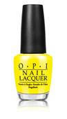 OPI Lacquer - #NLBB8 - NOFAUZYELLOW - Tru Neon Collection .5 oz