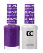 DND Duo Gel - #581 GRAPE JELLY