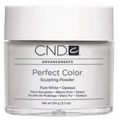 CND Perfect Color Sculpting Powders, Pure White Opaque, 3.7oz