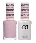 DND Duo Gel - #602 ELEGANT PINK - Diva Collection