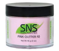 SNS Powder 2 oz - Pink Glitter F2