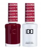 DND Duo Gel - #635 BURGUNDY MIST