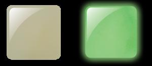 Glam & Glits Powder 1 oz - GLOW ACRYLIC - GL2002  DE-LIGHTED (CREAM)