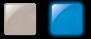 Glam & Glits Powder 1 oz - GLOW ACRYLIC - GL2003  LUMINOUS SKIED (CREAM)