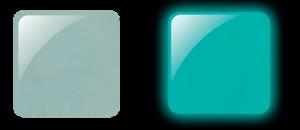 Glam & Glits Powder 1 oz - GLOW ACRYLIC - GL2017  CARPE DIEM (CREAM)