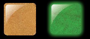 Glam & Glits Powder 1 oz - GLOW ACRYLIC - GL2022  IGNITE (GLITTER)