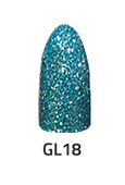 Chisel Acrylic & Dipping 2oz - GLITTER 18